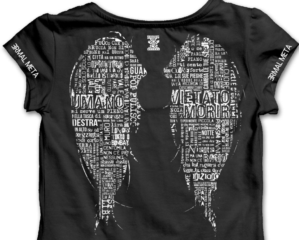 T-Shirt Ali v2 Nera Donna