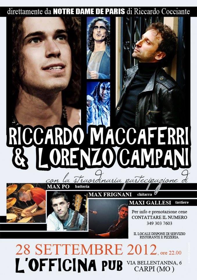 Lorenzo Campani e Riccardo Maccaferri Live