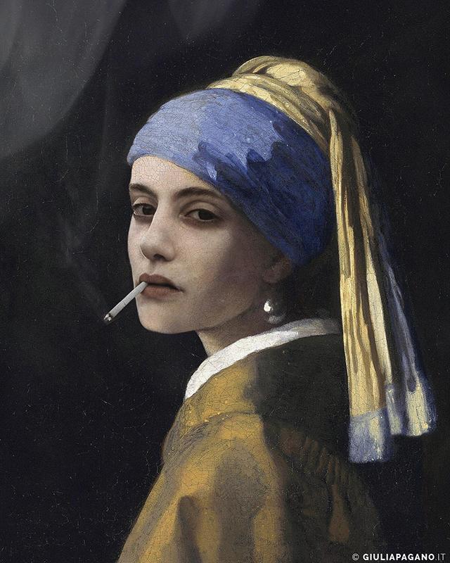 Demetra Bellina - La ragazza con l'orecchino di perla